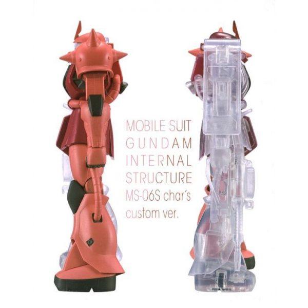 Mobile Suit Gundam Internal Structure Ms-06S Zaku II Char's Custom Ver. A