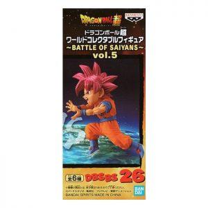 Dragon Ball Super World Collectable Figure BATTLE OF SAIYANS vol.5 Super Saiyan God Son Goku