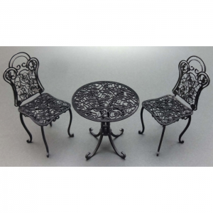 1/12 Iron Tables & Chairs