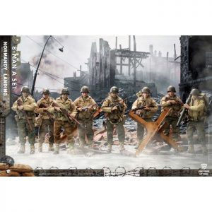 1/12 Crazy Figure WWII US Army On D-Day Deluxe Edition