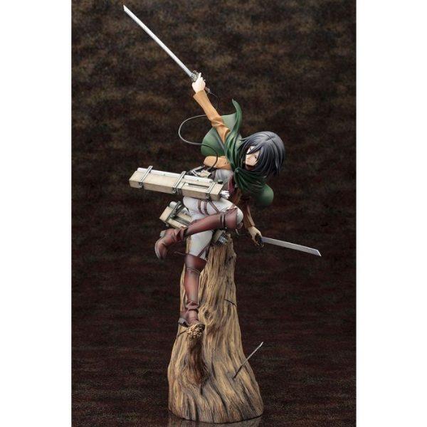 1/8 ARTFX J Attack on Titan Mikasa Ackerman Renewal Package Ver. Figure