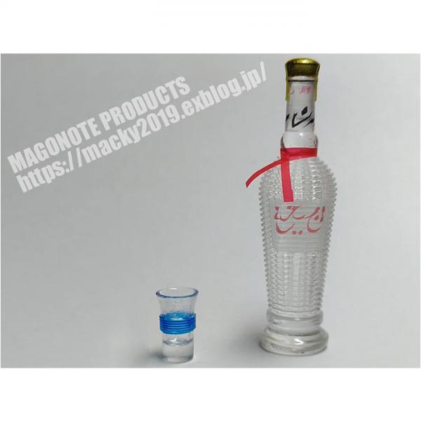 1/6 Qingdao Bottle + Glass Set