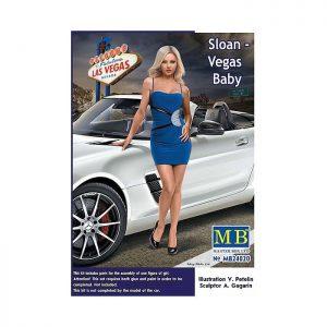 1/24 Dangerous Curves Series: Sloan - Vegas Baby