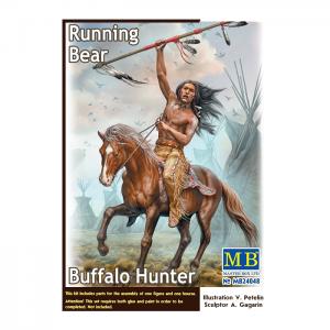 1/24 Running Bear Buffalo Hunter