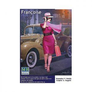 1/24 Dangerous Curves Series. Francoise
