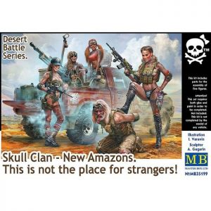 1/35 Desert Battle Series. Skull Clan New Amazons. This is not the place for strangers!