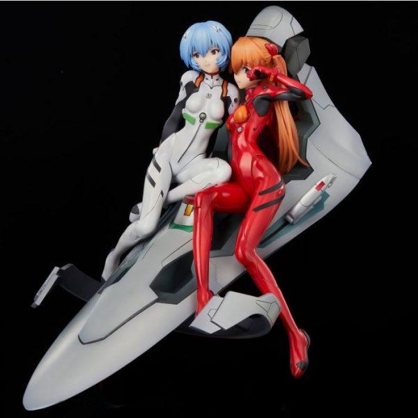 Rebuild of Evangelion Rei & Asuka -Twinmore Object- Figure