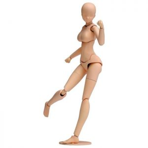 1/12 Movable Body Female  Light Brown